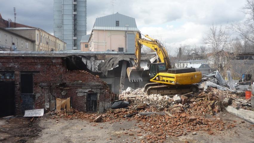 Демонтаж зданий и сооружений