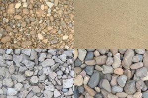 щебень и песок для стройки